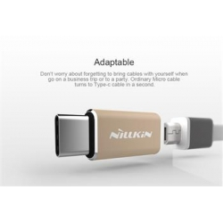 Nillkin Adapter microUSB/Type C Gold (EU Blister)