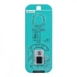 USAMS SJ072 Adapter USB 3.1 OTG/Type C Black (EU Blister)