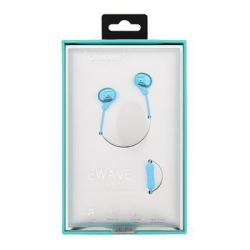 USAMS Ewave Stereo Headset 3,5mm Silver/Blue