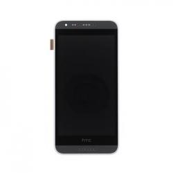 LCD Display + Dotyková Deska + Přední Kryt White pro HTC Desire 620