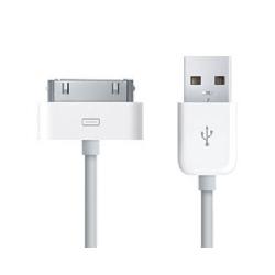 iPhone Datový Kabel White 3M OEM (Bulk)