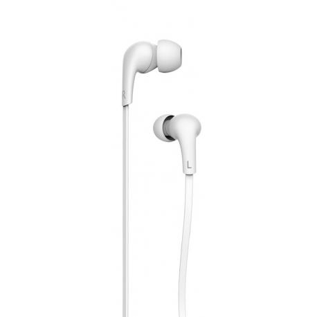 USAMS Leo Stereo Headset 3,5mm White