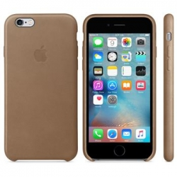 MKXR2ZM/A Apple Leather Cover Brown pro iPhone 6/6S(EU Blister)