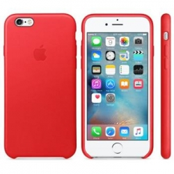 MKXX2ZM/A Apple Leather Cover Red pro iPhone 6/6S(EU Blister)