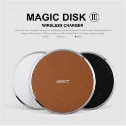 Nillkin Magic Disc 3 Bezdrátový Dobíječ Black New Version (EU Blister)
