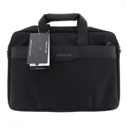 "CECB15NYBK CERRUTI Messenger Bag 15"" Black"