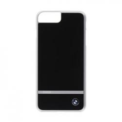 BMHCP7LASBK BMW Signature Aluminium Stripe Black Zadní Kryt pro iPhone 7 Plus