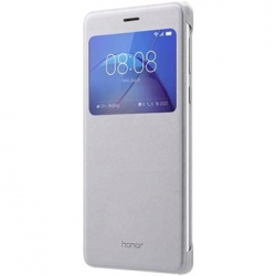 Honor Original S-View Pouzdro Silver pro Honor 6X (EU Blister)