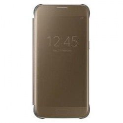 EF-ZG930CFE Samsung Clear View Pouzdro Gold pro G930 Galaxy S7 (Asia Blister)