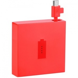 DC-18 Nokia USB Nabíječ Power Pack 1720 mAH Red