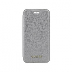 GUFLBKP7LIGLTSI Guess IriDescent Book Pouzdro Silver pro iPhone 7 Plus