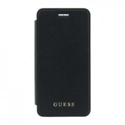GUFLBKP7LIGLTBK Guess IriDescent Book Pouzdro Black pro iPhone 7 Plus