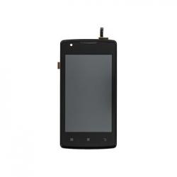 Lenovo A1000 LCD Display + Dotyková Deska + Přední Kryt Black