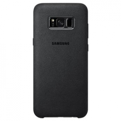EF-XG955ASE Samsung Alcantara Cover Dark Grey pro G955 Galaxy S8 Plus (EU Blister)