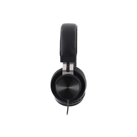 USAMS SJ118 Wire Stereo Headset 3,5mm Black