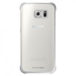 EF-QG925BSE Samsung Zadní Kryt Clear Silver pro G925 Galaxy S6 Edge (Pošk.Blister)