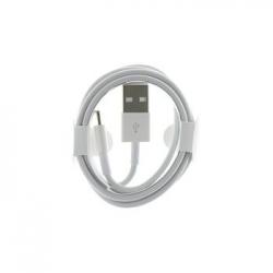 MD818 iPhone 5 Lightning Datový Kabel White (Round Pack)
