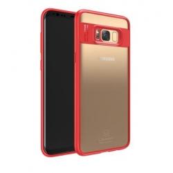 USAMS Mant Zadní Kryt Red pro Samsung G955 Galaxy S8 Plus