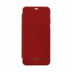 GUFLBKS8LIGLTRE Guess IriDescent Book Pouzdro Red pro Samsung Galaxy S8 Plus