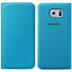 EF-WG920BLE Samsung Wallet Pouzdro Blue pro G920 Galaxy S6 (Pošk. Blister)