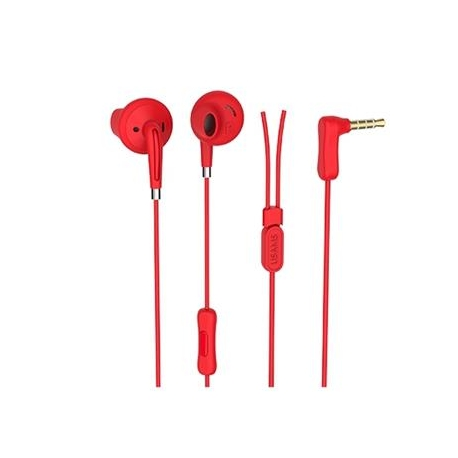 USAMS EP-14 In-Ear Stereo Headset 3,5mm Red