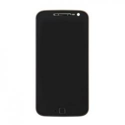 Lenovo Moto G4 Plus LCD Display + Dotyková Deska + Přední Kryt Black