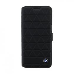 BMFLBKS8HEXBK BMW Hexagon Kožené Book Pouzdro Black pro Samsung G950 Galaxy S8