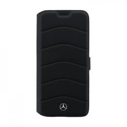 MEFLBKS8LCUSBK Mercedes Book Pouzdro Wave III Black pro Samsung G955 Galaxy S8 Plus