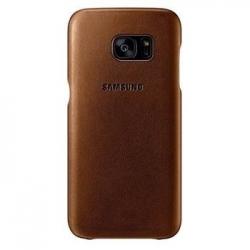 EF-VG930LDE Samsung Zadní Kožený Kryt Brown pro G930 Galaxy S7 (EU Blister)