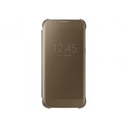 EF-ZG930CFE Samsung Clear View Pouzdro Gold pro G930 Galaxy S7 (Bulk)