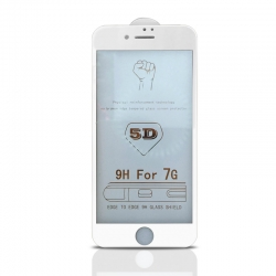 Apple iPhone 7/8 5D Tvrdené sklo lepiace po celej ploche