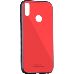 Forcell Glass Case - Huawei P20 Lite Červené
