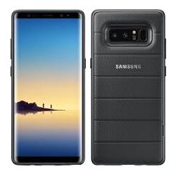 Samsung Zadný kryt so stojanom pre Samsung NOTE 8, cierna EF-RN950CBEGWW
