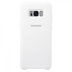EF-PG955TWE Samsung Silicone Cover White pro G955 Galaxy S8 Plus (EU Blister)
