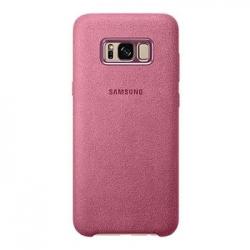 EF-XG955APE Samsung Alcantara Cover Pink pro G955 Galaxy S8 Plus (EU Blister)