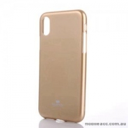 Mercury Jelly Case pro iPhone X/XS Gold