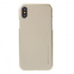 Mercury i-Jelly TPU Case pro iPhone X/XS Gold