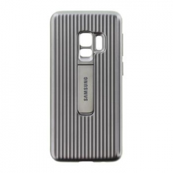EF-RG960CSE Samsung Protective Standing Cover Silver pro G960 Galaxy S9 (EU Blister)