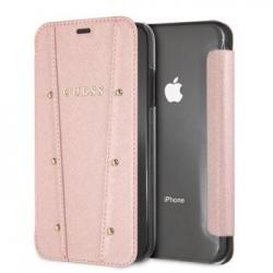 GUFLBKI61KAILRG Guess Kaia Book Case Rose Gold pro iPhone XR
