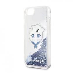 KLHCI8KSCH Karl Lagerfeld Sailor Choupette TPU Case Blue pro iPhone 7/8