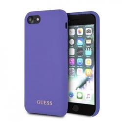 GUHCI8LSGLUV Guess Saffiano PU Silicone Case Purple pro iPhone 7/8