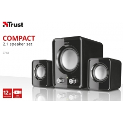 TRUST Ziva 2.1 Compact Speaker Set 21525