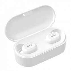 QCY T2C TWS Bezdrôtové slúchadlá Bluetooth 5.0 - Biele