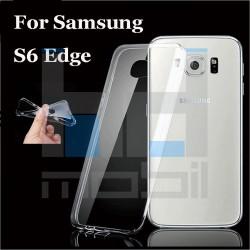 Samsung Galaxy S6 Edge - Tenké silikónové púzdro