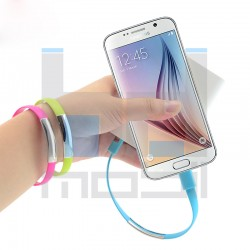 Micro USB - Náramok na ruku