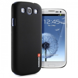 Zadní kryt Quiksilver pro Samsung Galaxy S III / S III NEO, černý