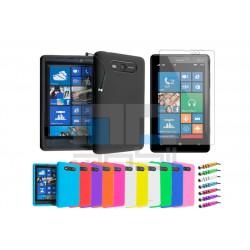 Nokia Lumia 820 - Farebné Silikónové Púzdra