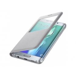 Púzdro Samsung  Galaxy S6 Edge + EF-CG928PS strieborné