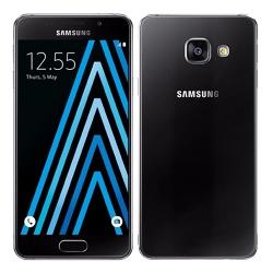 Samsung Galaxy A3 2016 A310F Čierny + 3D sklo a obal