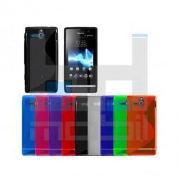 Sony Xperia U St25i - Farebné Silikónové Púzdro